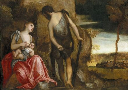 Veronese, Paolo Caliari: Cain and His Family Wandering. Fine Art Print.  (002010)